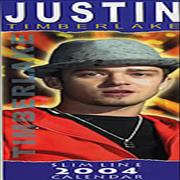 Click here for more info about 'Justin Timberlake - Slimline Calendar 2004'