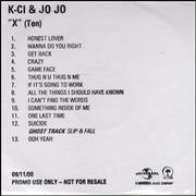 Click here for more info about 'K-Ci & Jojo - X (Ten)'