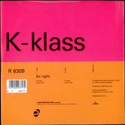 Click here for more info about 'K-Klass - So Right'