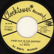 Click here for more info about 'K.C. White - First Cut Is The Deepest'