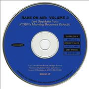 Click here for more info about 'KCRW - Rare On Air: Volume 3'