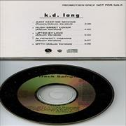 Click here for more info about 'K.D. Lang - 5-track Sampler'