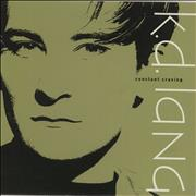 "K.D. Lang Constant Craving - 1st UK 7"" vinyl"
