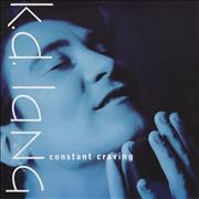 "K.D. Lang Constant Craving - P/S UK 7"" vinyl"