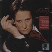 Click here for more info about 'K.D. Lang - Drag - Smoky vinyl'