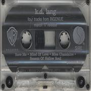 Click here for more info about 'K.D. Lang - Four Tracks From 'Ingenue''