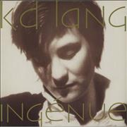 K.D. Lang Ingénue - EX UK vinyl LP