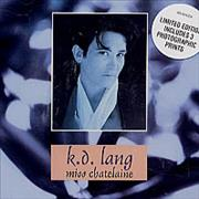 Click here for more info about 'K.D. Lang - Miss Chatelaine + Photo Prints'