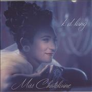 "K.D. Lang Miss Chatelaine UK 7"" vinyl"