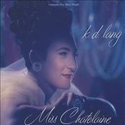 Click here for more info about 'K.D. Lang - Miss Chatelaine'