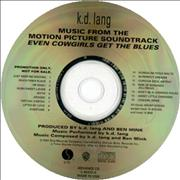 Click here for more info about 'K.D. Lang - Music From The Motion Picture... Even Cowgirls'