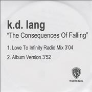 Click here for more info about 'K.D. Lang - The Consequences Of Falling'