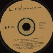 Click here for more info about 'K.D. Lang - The Mind Of Love - CD1'