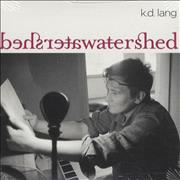 Click here for more info about 'K.D. Lang - Watershed'