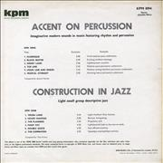 Click here for more info about 'KPM Library - Accent On Percussion/ Construction In Jazz'