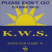 Click here for more info about 'K.W.S. - Please Don't Go'