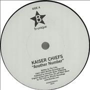 Click here for more info about 'Kaiser Chiefs - Another Number / Modern Way'