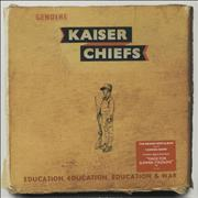 Click here for more info about 'Kaiser Chiefs - Education, Education, Education & War + 7