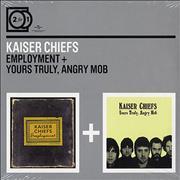 Click here for more info about 'Kaiser Chiefs - Employment / Yours Truly, Angry Mob'
