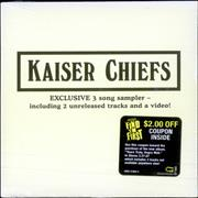 Click here for more info about 'Kaiser Chiefs - Exclusive 3 Song Sampler - sealed'