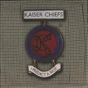 Click here for more info about 'Kaiser Chiefs - I Predict A Riot - 2004 issue - White label'