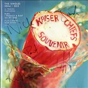 Click here for more info about 'Kaiser Chiefs - Souvenir: The Singles 2004-2012 - Fully Autographed'