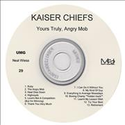 Click here for more info about 'Kaiser Chiefs - Yours Truly, Angry Mob'