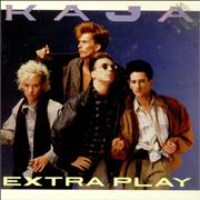 Click here for more info about 'Kajagoogoo - Extra Play - Gold Promo Stamp'