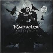 Click here for more info about 'Kamelot - Silver Thorn - Blue Marbled vinyl'