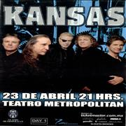 Click here for more info about 'Kansas - 23 De Abril Teatro Metropolitan'