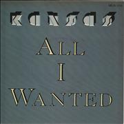 Click here for more info about 'Kansas - All I Wanted'