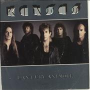 Click here for more info about 'Kansas - Can't Cry Anymore - Sample Stickered'