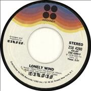 Click here for more info about 'Kansas - Lonely Wind - 2nd'
