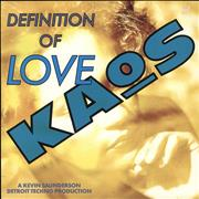 Click here for more info about 'Kaos - Definition Of Love'