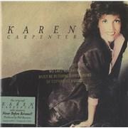 Click here for more info about 'Karen Carpenter - Karen Carpenter - Gold promo stamped'