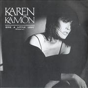 Click here for more info about 'Karen Kamon - Give A Little Love'