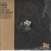 Click here for more info about 'Kariya - Let Me Love You For Tonight'