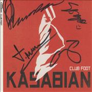 Click here for more info about 'Kasabian - Club Foot - Autographed Slipcase Only'