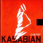 Click here for more info about 'Kasabian - Club Foot - Fully Autographed'