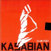 "Kasabian Club Foot UK 10"" vinyl"