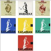 Click here for more info about 'Kasabian - Collection Of 7 x 10
