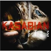 """Kasabian Fire UK 10"""" vinyl"""