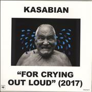 Kasabian For Crying Out Loud - 180gm Vinyl + CD - Sealed UK vinyl LP