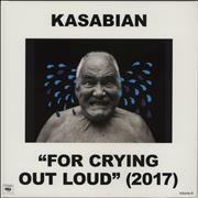 Click here for more info about 'Kasabian - For Crying Out Loud - 180gram Vinyl + Bonus CD'