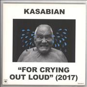 Kasabian For Crying Out Loud - White Vinyl UK 3-LP vinyl set