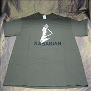Click here for more info about 'Kasabian - Khaki Face T-Shirt - Large'