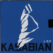"Kasabian L.S.F. - Sticker Sealed UK 10"" vinyl"