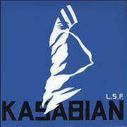 "Kasabian L.S.F. UK 10"" vinyl"