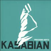 "Kasabian Processed Beats UK 10"" vinyl"