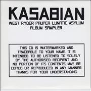 Click here for more info about 'Kasabian - West Ryder Pauper Lunatic Asylum Sampler'